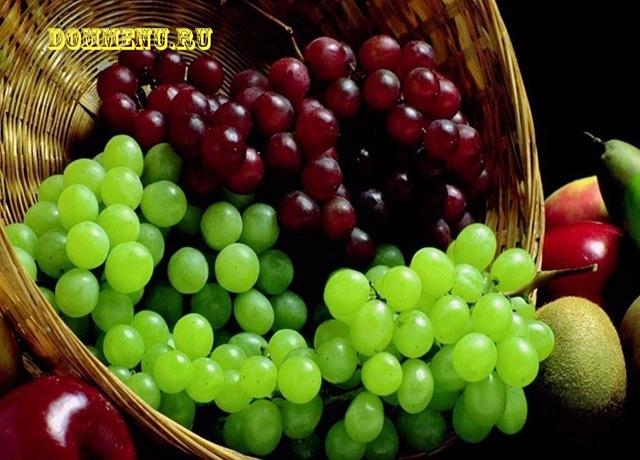 Виноград свойства