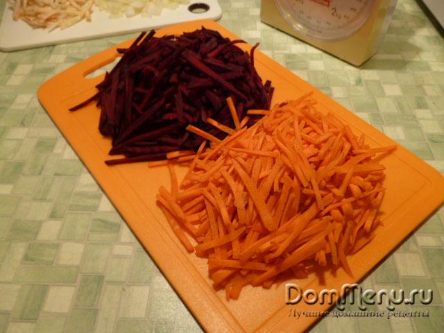 Морковь для русского борща