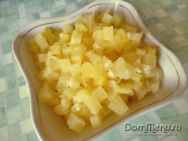 Izmel'chaem ananasy