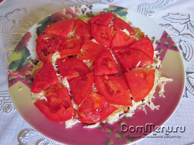 3 sloi - pomidory