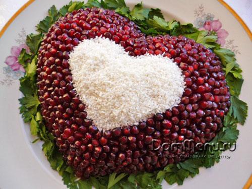 salat serdce
