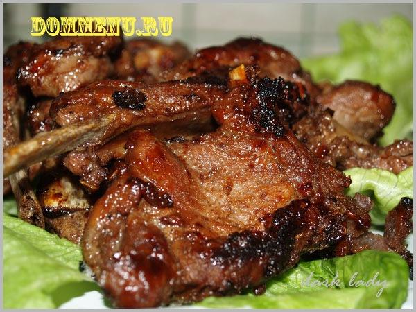 ребрышки говяжьи рецепт с фото