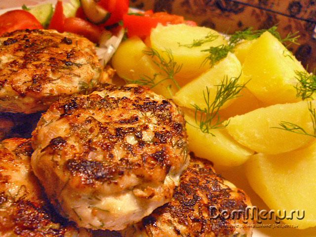 рецепты приготовления куриных котлет в духовке