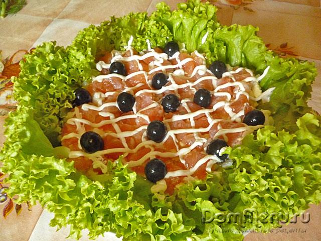 Салат ёжик рецепты с с сухариками
