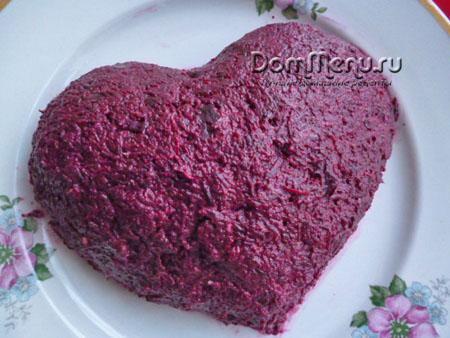 Как сделать сердце для салата 582